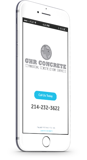 Call GHR Concrete for Concrete Cutting Services 214-232-3622